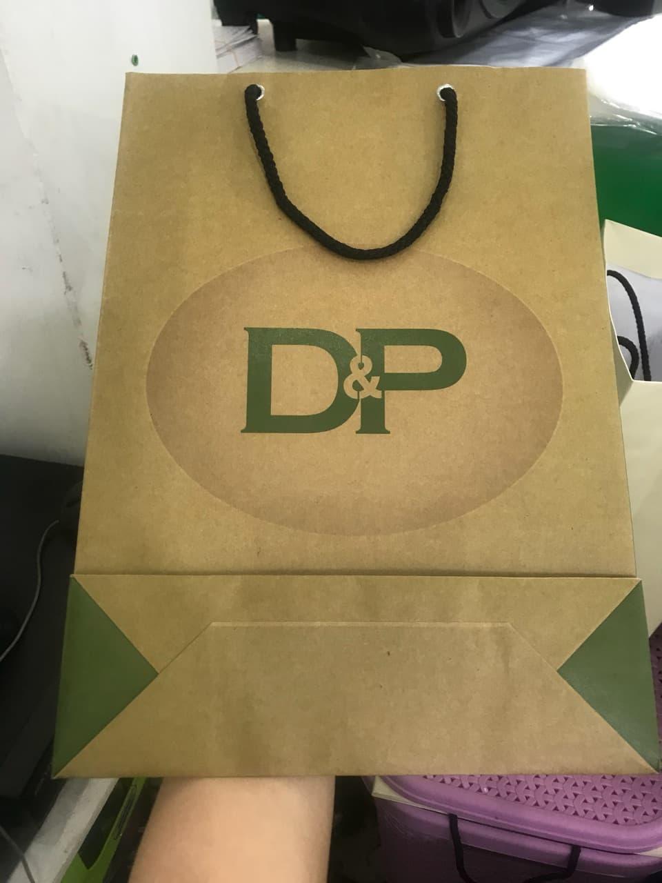 Túi giấy Kraft được lựa chọn nhiều để in ấn các sản phẩm túi giấy