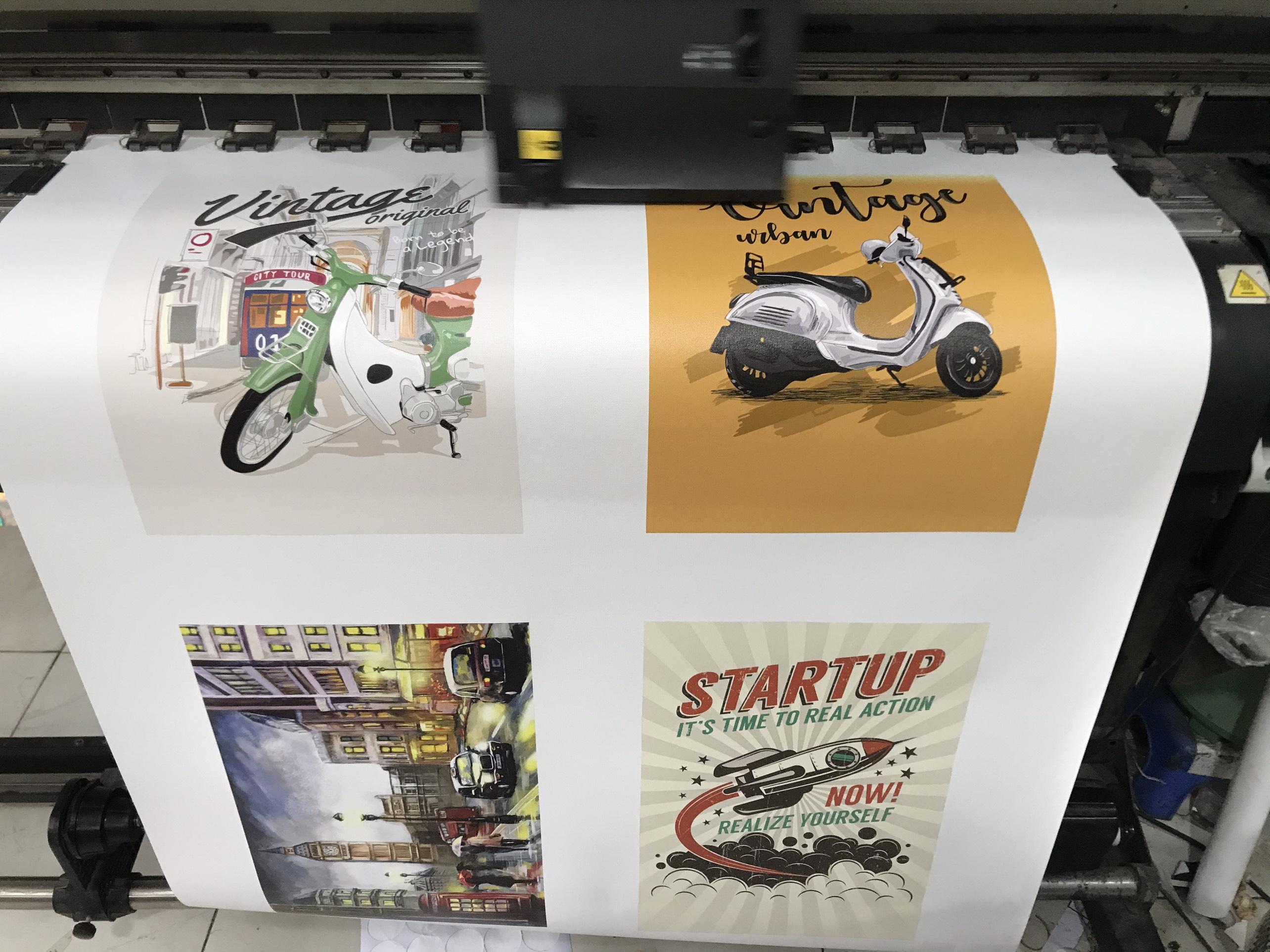 In ấn tranh canvas trực tiếp tại InKyThuatSo