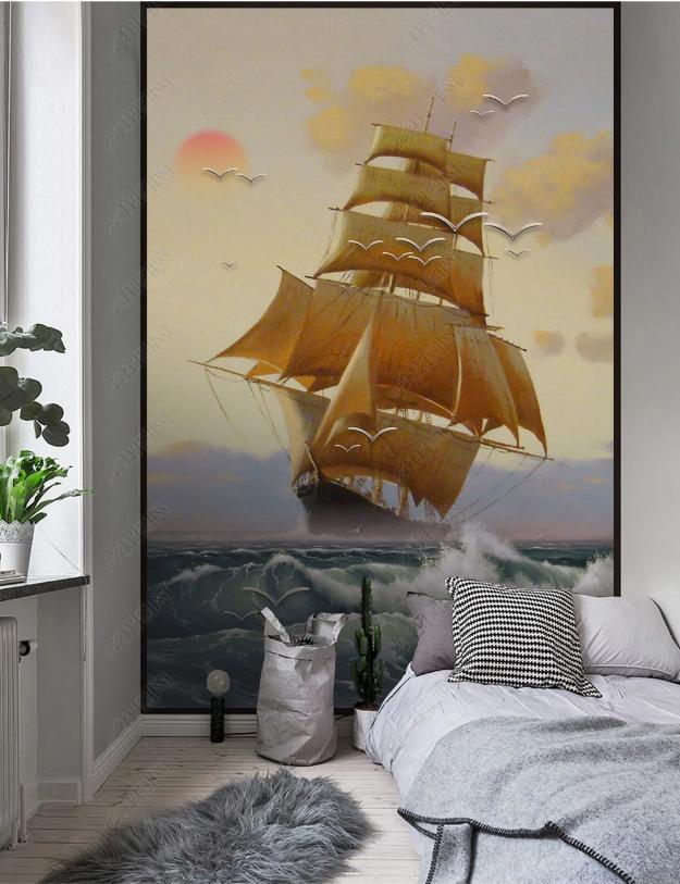 Tranh canvas treo phòng ngủ