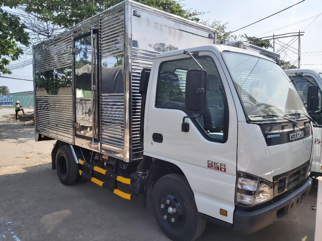 Đánh giá tổng quan xe tải Isuzu 1.4 tấn(3)