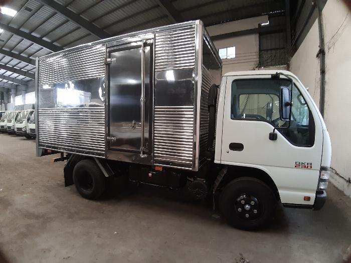 Đánh giá tổng quan xe tải Isuzu 1.4 tấn(2)