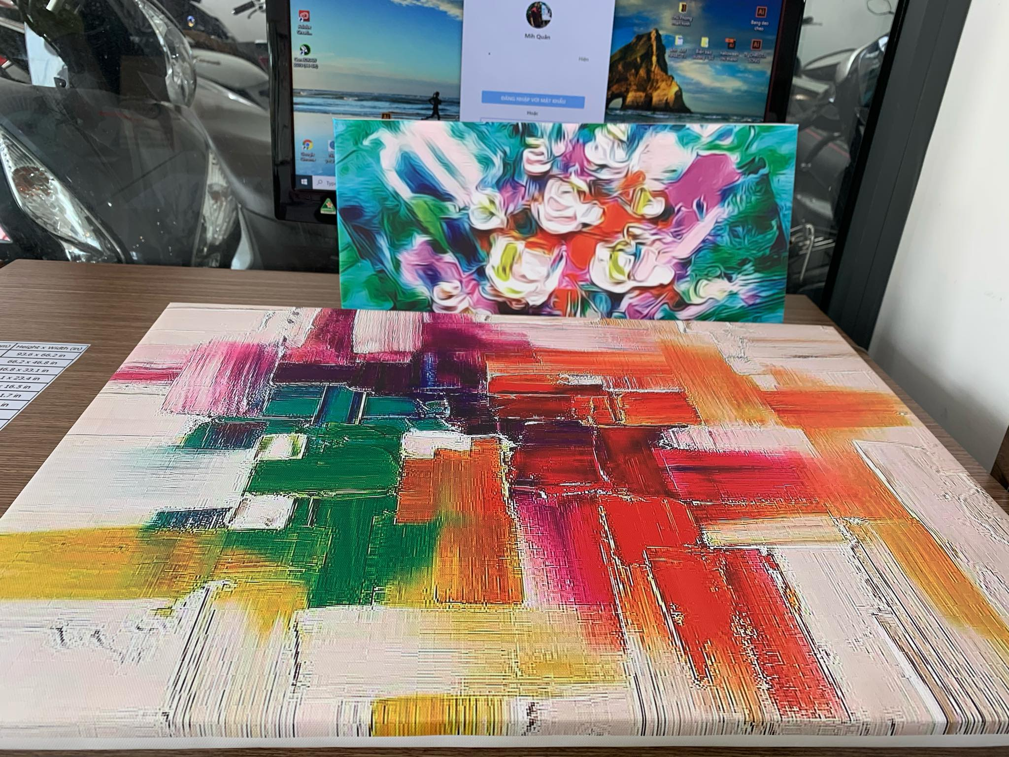 tranh canvas