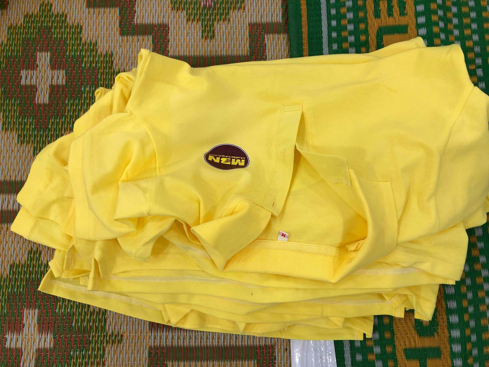 vải kate được ứng dụng làm đồng phục giá rẻ