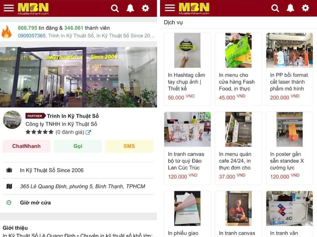 In Kỹ Thuật Số Since 2006 - Top công ty in ấn hoạt động mạnh mẽ tại sàn thương mại điện tử MuaBanNhanh - 1