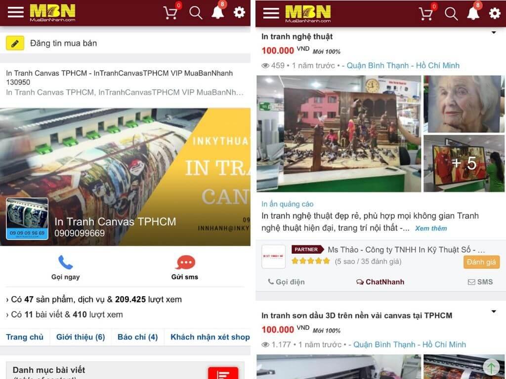 In Kỹ Thuật Số Since 2006 - Top công ty in ấn hoạt động mạnh mẽ tại sàn thương mại điện tử MuaBanNhanh - 2