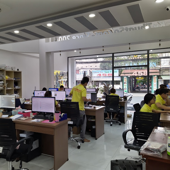 Văn phòng tiếp nhận đơn hàng công ty in ấn TPHCM - In Kỹ Thuật Số Since 2006
