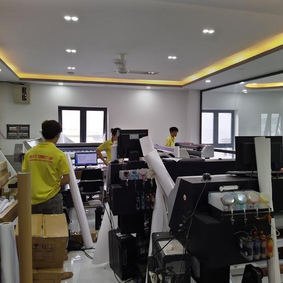 Phòng máy in kỹ thuật số