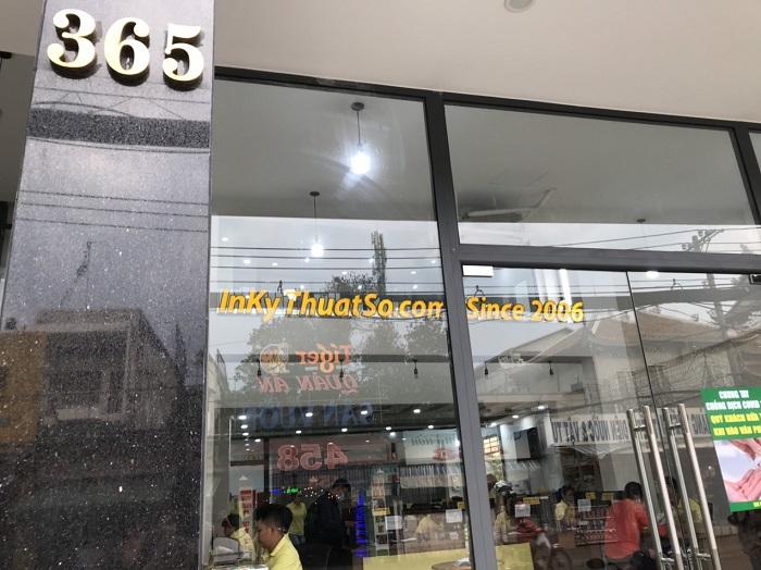Công ty in ấn quảng cáo TPHCM - In Kỹ Thuật Số 365 Lê Quang Định, phường 5, Bình Thạnh, HCM