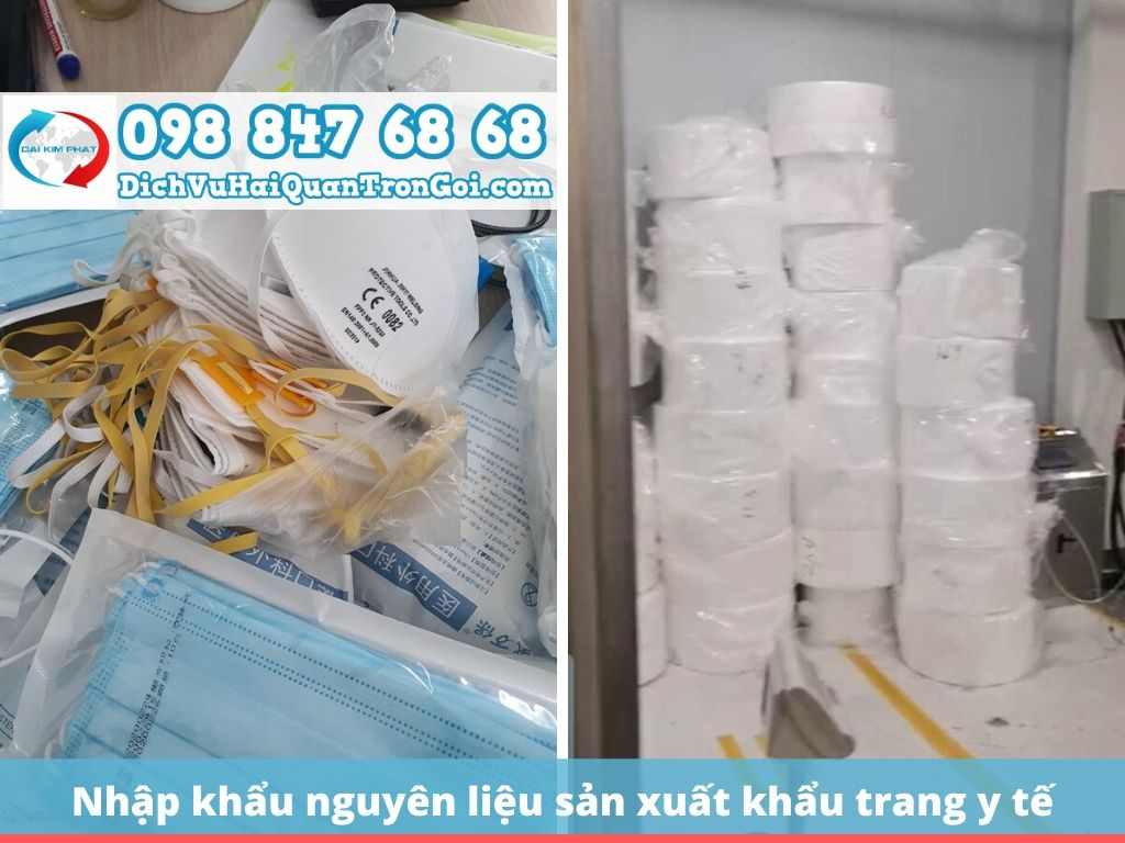 Mã HS và thuế nhập khẩu đối với mặt hàng nguyên liệu sản xuất khẩu trang y tế kháng khuẩn
